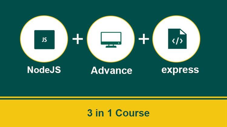 NodeJS 3 in 1: Basics of NodeJS & Express With Projects | Udemy