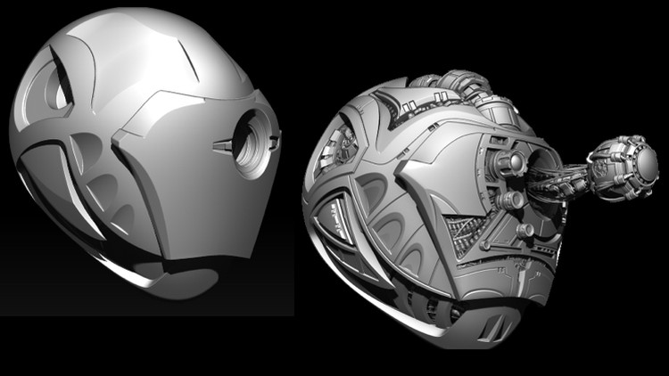 Zbrush : Hard Surface Sculpting for all Levels! | Udemy
