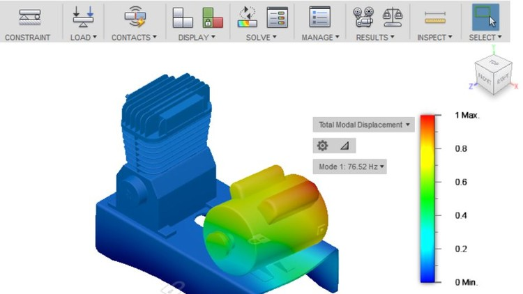 Fusion 360 Simulations, Modal Analysis and Event Simulations