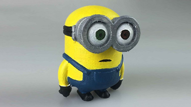 SelfCAD - Browser-Based 3D Modeling/Printing (Minions).