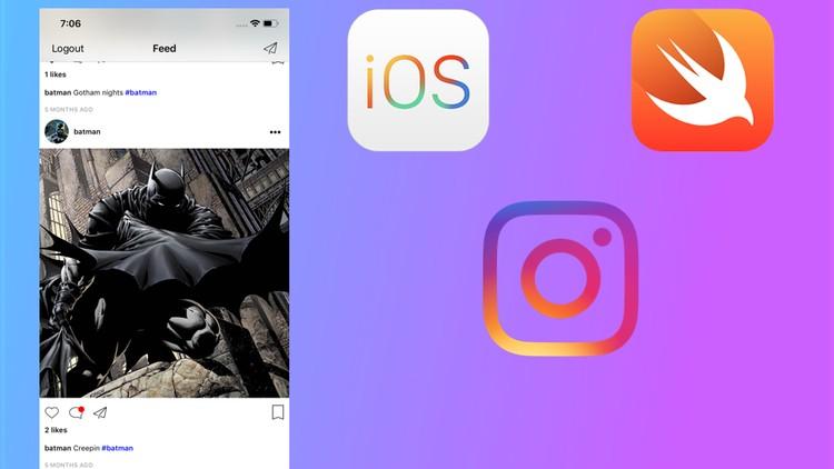 Instagram Clone w/ Swift 4, Firebase and Push Notifications