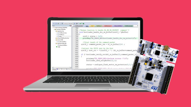 STM32Fx Microcontroller Custom Bootloader Development | Udemy