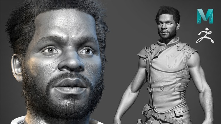 Realistic Character Modeling For Game In Maya and Zbrush | Udemy