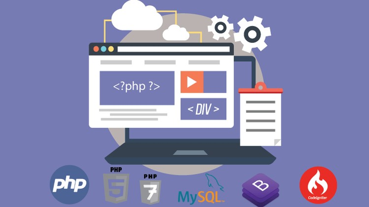 The Complete PHP Course from Core PHP to PHP7 & Codeigniter | Udemy