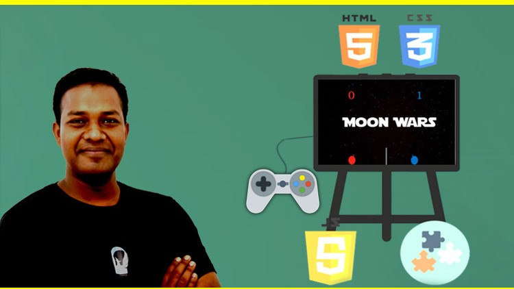 Learn HTML5, Canvas, CSS3 and JS by Building & Playing Game | Udemy