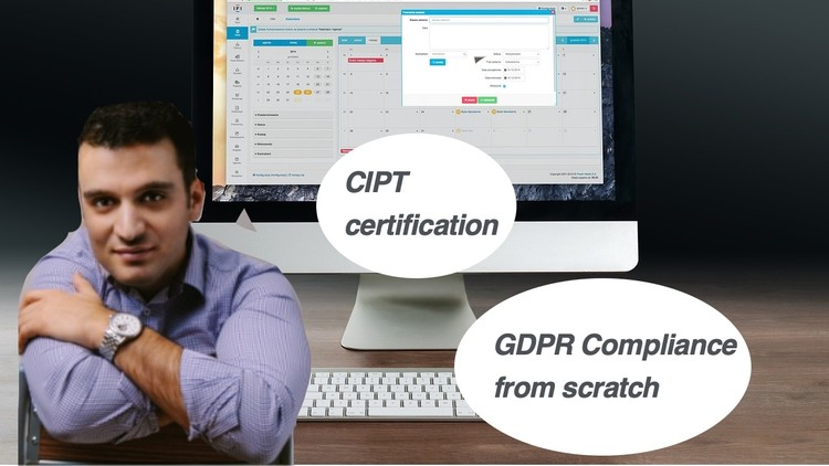 Build EU GDPR data protection compliance from scratch (CIPT) | Udemy