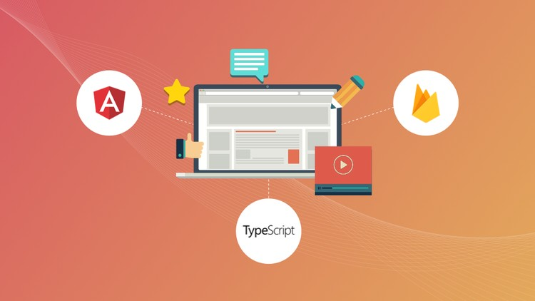 TypeScript, Angular, Firebase & Angular Material Masterclass