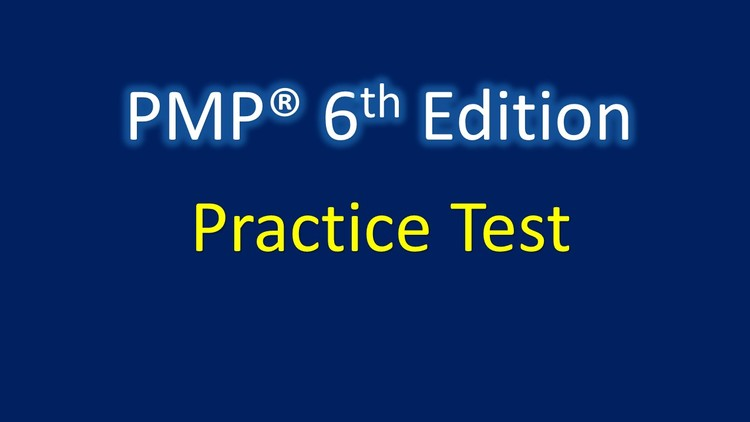 PMP 6th Edition - Practice Questions | Udemy