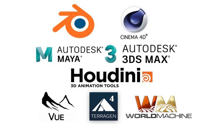 Import Terrain: C4D Blender Houdini Maya 3dsMax Vue Terragen | Udemy