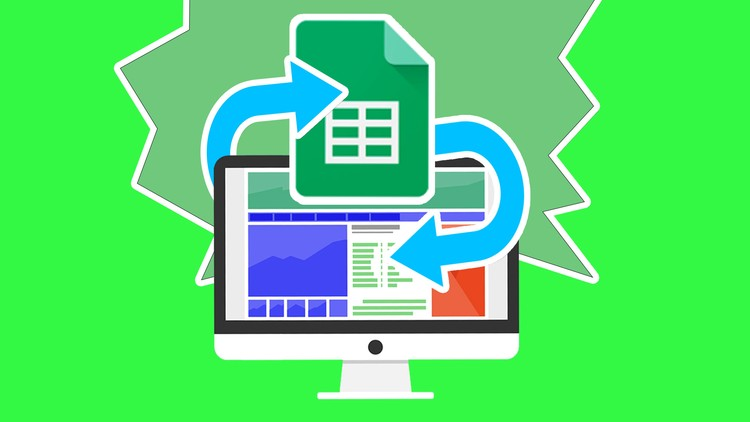 Google Sheet Data API JSON AJAX | Udemy