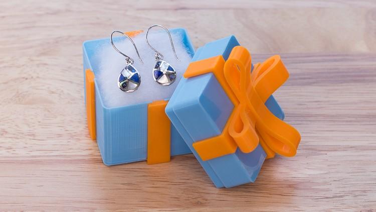 Design a Gift Box in Fusion 360