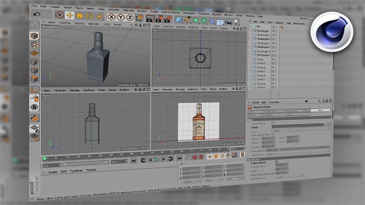 Spline Modeling Fundamentals in CINEMA 4D | Udemy