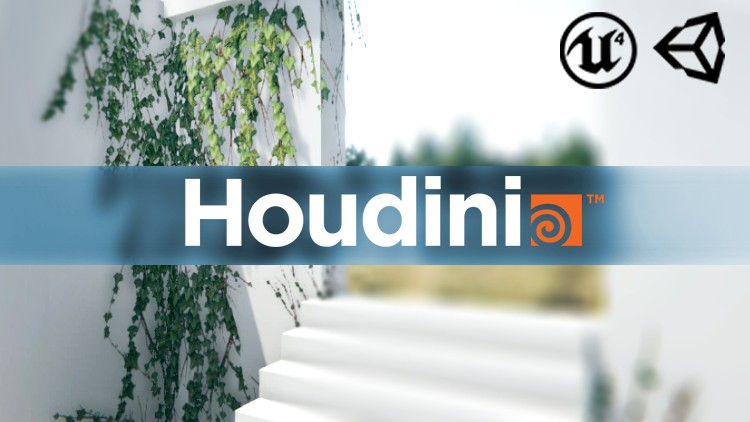 Houdini Game Art - Create foliage for Games with Houdini | Udemy