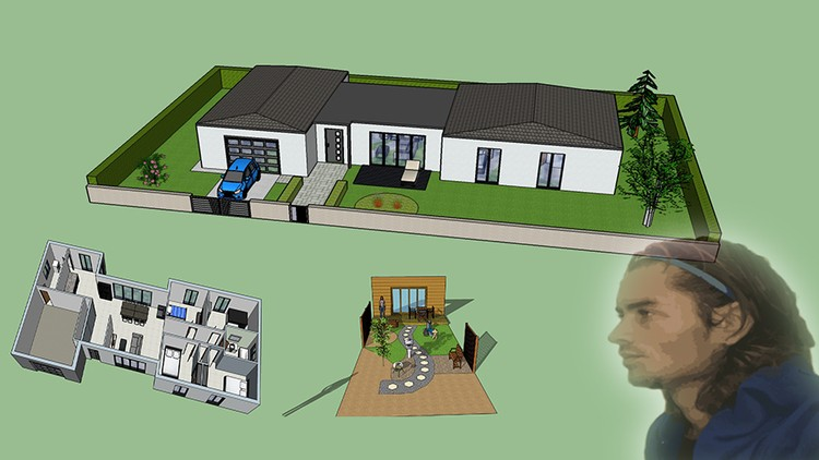 Sketchup 3D beginner to intermediate, basics and training