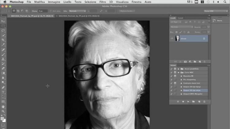 Photoshop-Sharpening: dettaglio e nitidezza perfetti