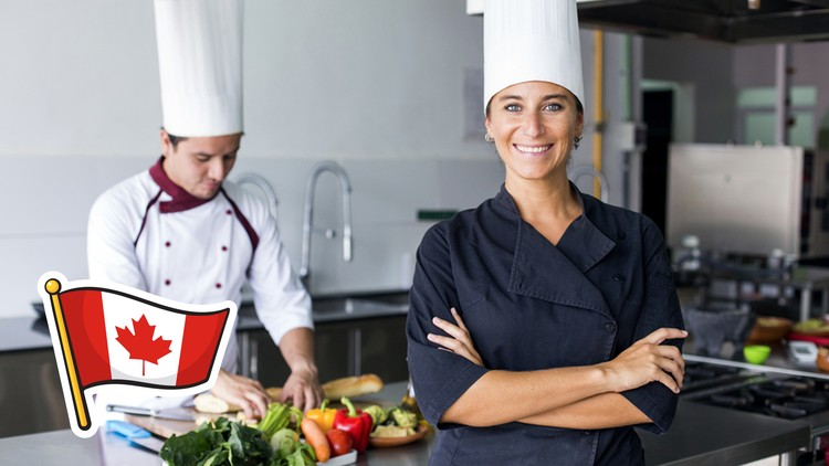 Canada Immigration Udemy  100% Free – How to Immigrate to Canada as a Food Service worker.