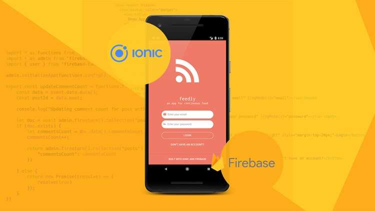 Ionic Apps with Firebase | Udemy