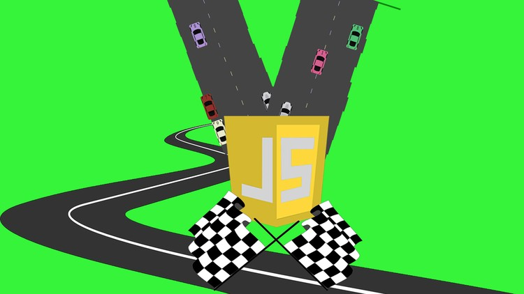 Car Racer JavaScript Game Exercise Vanilla JavaScript | Udemy