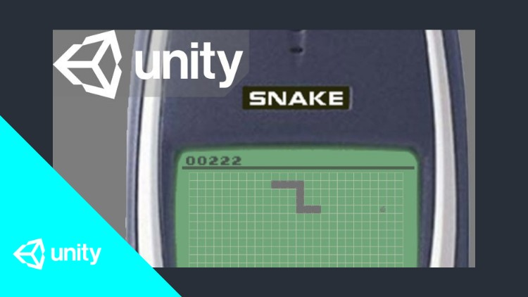 Snake, snake? SNAKE!? - Create the classic game in Unity | Udemy