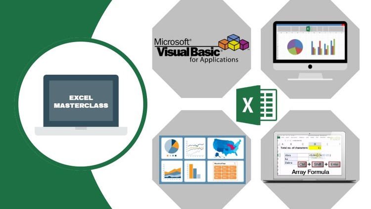 Advanced Excel + Excel VBA + Excel Dashboard + Tips & Tricks | Udemy
