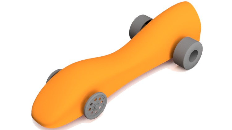 Autodesk Fusion 360 CAD/CAM/CNC: Make a model Co2 car