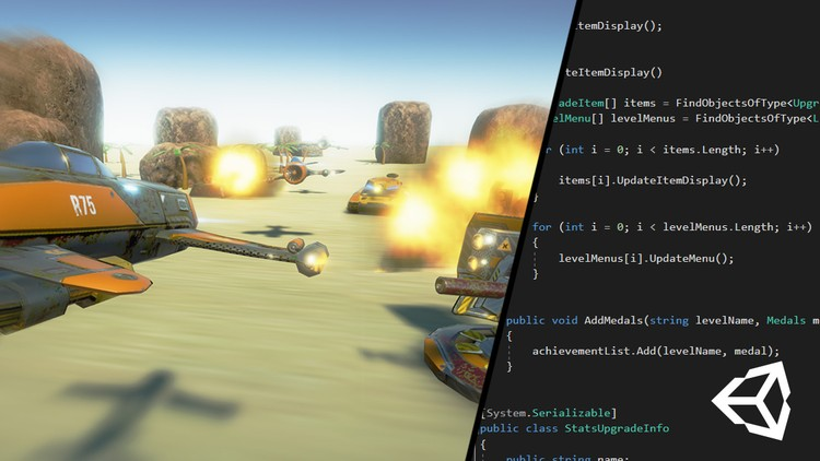 [Udemy 100% Off]-Create a SHMUP with Unity 3D