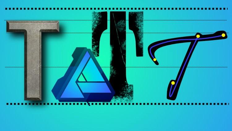 Affinity Designer- Design artistic text and Create Fonts | Udemy