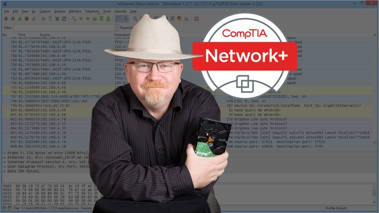 CompTIA Network+ Cert  (N10-007): The Total Course   Udemy