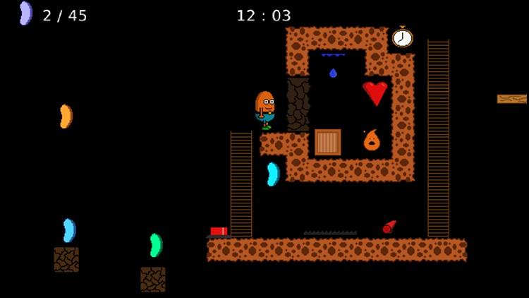 tetris 2d full screen