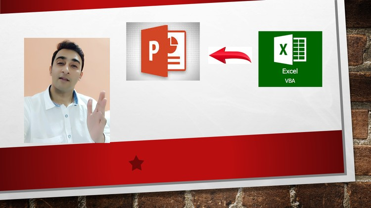Excel VBA Connecting Powerpoint Application Series-13 | Udemy