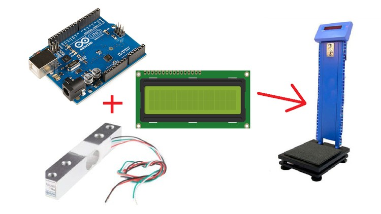 Automatic Weight Measuring Machine using Arduino | Udemy