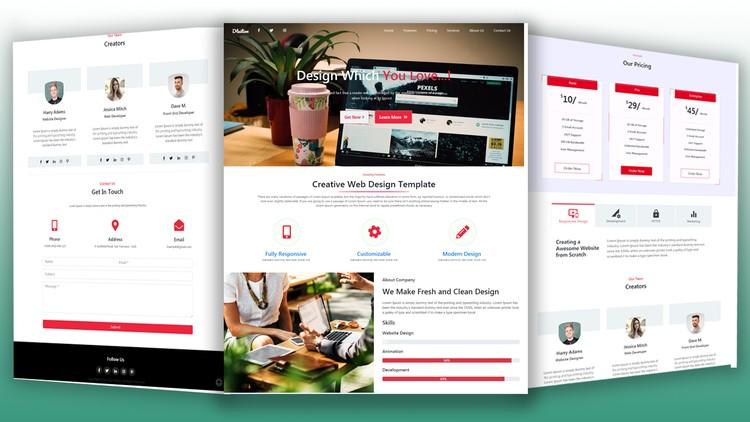 Responsive Website Design From Scratch