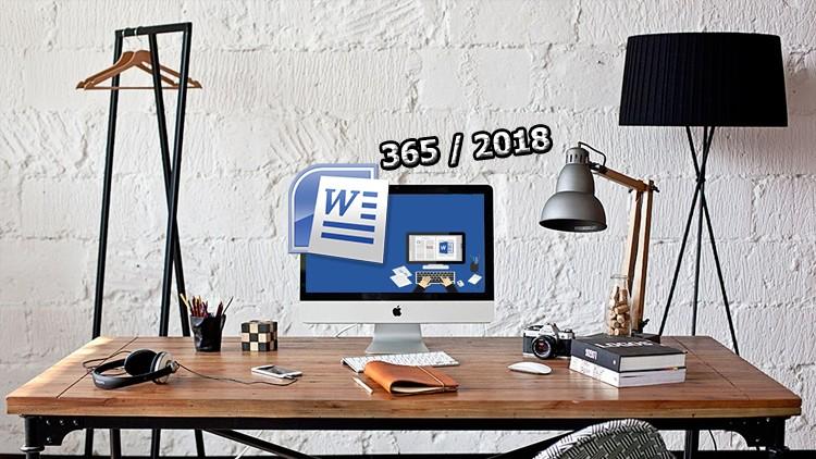 Sıfırdan Herkes İçin Microsoft Word 365 2016/2018 Eğitimi