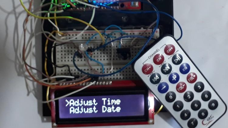 Learn Arduino by developing Advanced Clock Alarm IR system | Udemy