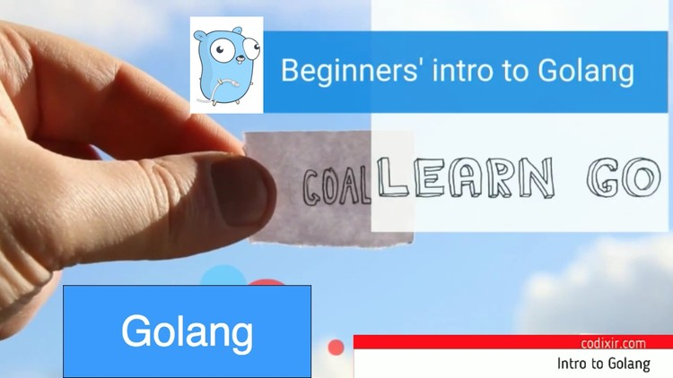 Golang: Intro to Go programming language (build a chat app
