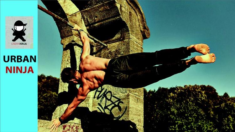 Fitness ninja masterclass(Flips, Martial arts, Calisthenics)