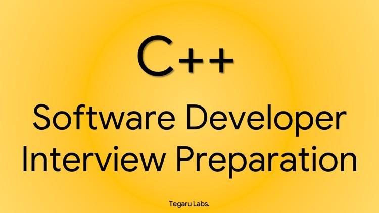 C++ Software Developer Interview Preparation | Udemy
