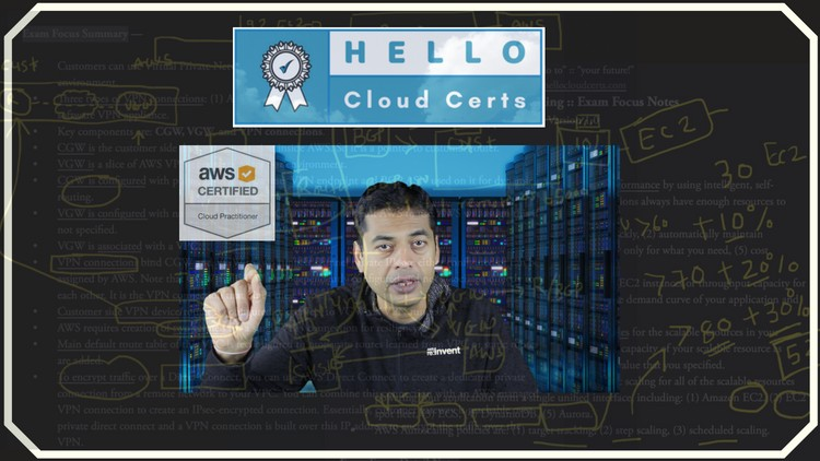 AWS Certified Cloud Practitioner Practice Exam Course PE-104 | Udemy