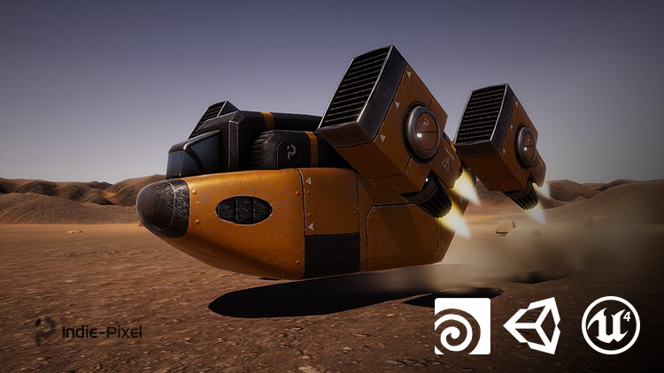 Vehicle Modeling in Houdini 16 5 - SciFi Dropship | Udemy