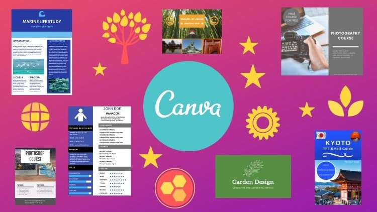 Use Canva for all your graphic projects | Udemy