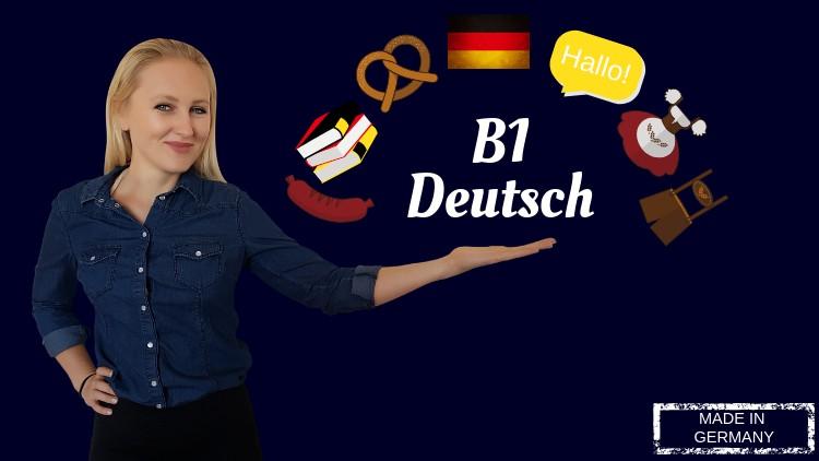 German B1 Intermediate German Udemy