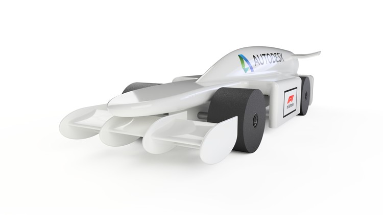 Design a Race Car for F1 in Schools with Autodesk Fusion 360