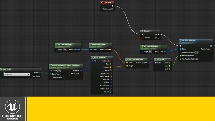 Creating Gameplay Mechanics With Blueprints in Unreal Engine | Udemy
