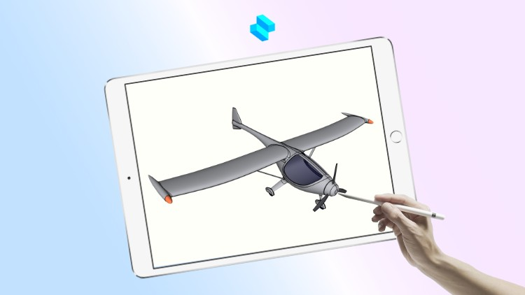 Learn 3D Modeling in Shapr3D: Airplane Design Course