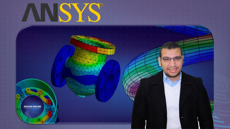 Ansys Basic Course-Basics of FEM & Static Analysis Tutorials