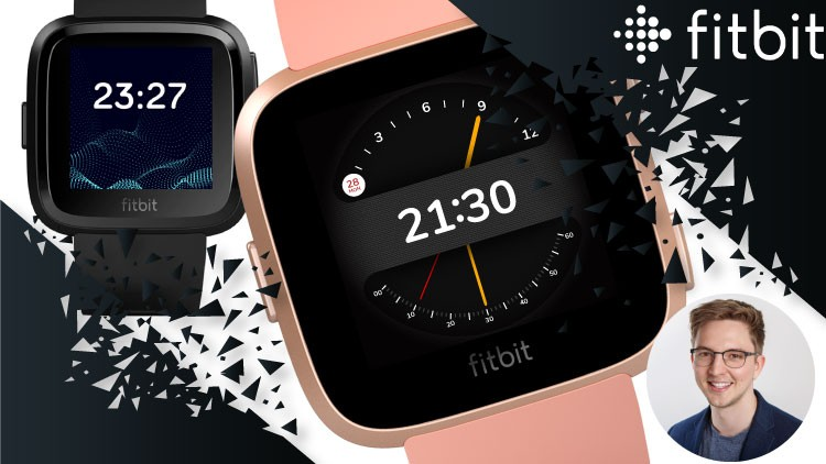 How to create Clock Faces for Fitbit Versa and Ionic Course