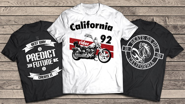 b87075f03 T-Shirt Design Masterclass With Adobe Photoshop | Udemy