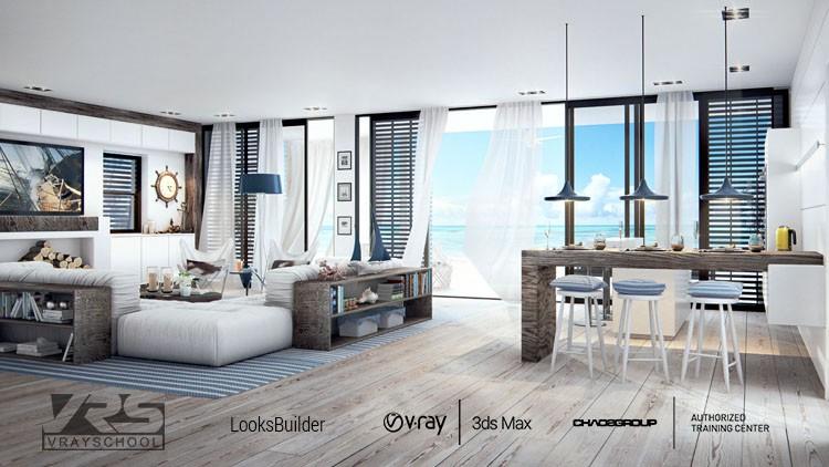 INTERIOR DESIGN CHALLENGE with 3DsMax VRay Photoshop | Udemy