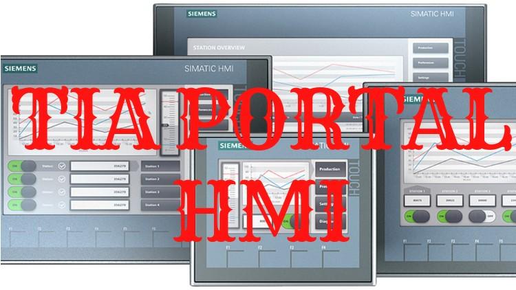 Siemens TIA Portal for KTP400 HMI Programming (PLC-SCADA-12)   Udemy