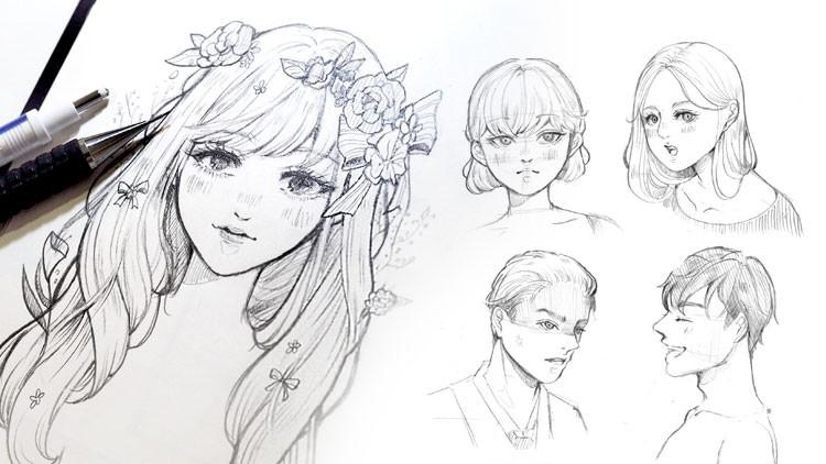 Anime Line Art To Draw